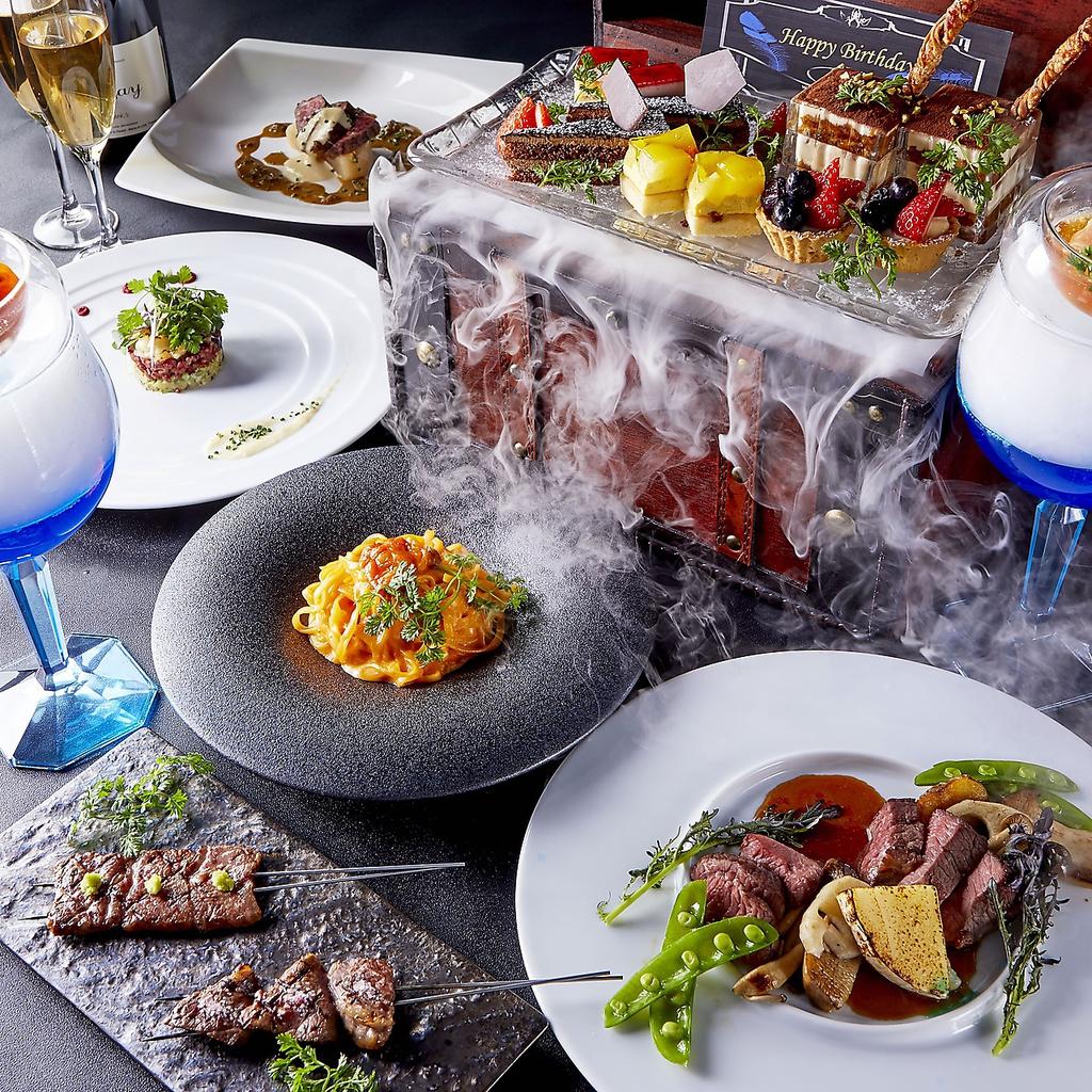 sky dining & bar BLUE BIRD ブルーバード ミナミ 難波 店舗イメージ2