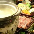 水炊きも人気メニューの一つです!透き通った出汁には鶏の旨み凝縮。。