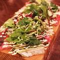 料理メニュー写真まな板鮮魚のメリメロカルパッチョ