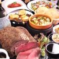 自慢の熟成肉はサクッと歯でかみきれる触感と、口の中で広がる肉本来の「甘さ」「旨味」を贅沢に楽しめます。コースでもお楽しみいただける自慢の看板メニュー♪ボリュームも味もご満足いただけるよう心を込めてご用意!
