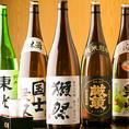 日本酒は『清酒 武蔵の国 鬼ごろし』『一ノ蔵 無鑑査本醸造 辛口』『上撰 一乃谷 純』etc…、焼酎は『八重丸 麦』『さつま白波 芋』『白岳 米』etc…酒通も大満足な豊富な品揃えでお待ちしております。