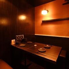 掘りごたつ席なので足を伸ばしてゆったりとお食事をお楽しみ頂ける人気のお席です。接待やデート向けの雰囲気のある完全個室♪お座敷タイプの個室もございます。シーンに合わせてご利用ください![所沢 居酒屋 個室 飲み放題 日本酒 焼酎 地酒 和食 しゃぶしゃぶ 貸切 馬刺し 宴会 海鮮 刺身 合コン]