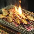 自分で焼くスタイルだから焼けたての旨味をたっぷりお楽しみ下さい。