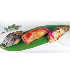 料理メニュー写真3日仕込みの漬け魚焼き