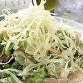 料理メニュー写真バリバリワンタンサラダ