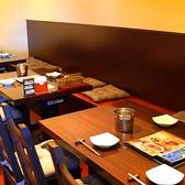 あたたかみあるオレンジ色の照明。落ち着いた雰囲気でお食事を堪能して頂けます。梅田 韓国 北新地 で検索♪