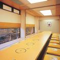 【お座敷個室】最大で30名様までご利用可能です。 大切な方との食事に個室をご利用くださいませ。