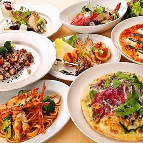 【スペシャルパーティーコース】ラクレットチーズ含むお料理、9品 4800円(税込)