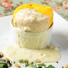 料理メニュー写真ゴルゴンゾーラチーズのオムレツ スフレ仕立