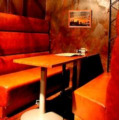 4名様用のテーブル席★