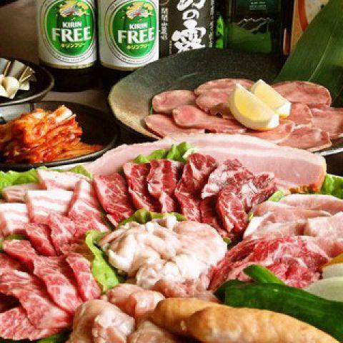 ビールはアサヒスーパードライ!【歓迎会・各種宴会に!】食べ飲み放題「90分」満足コース