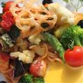 料理メニュー写真お野菜たっぷりパスタ
