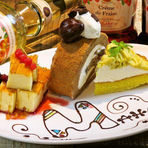 大切な方のお祝いに…♪サプライズケーキもご用意いたします♪結婚式の二次会・誕生日・歓送迎会等ありましたらご予約の際にお伝え下さい。