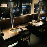 ぐりぐり家 岡山駅前店 焼肉の雰囲気2