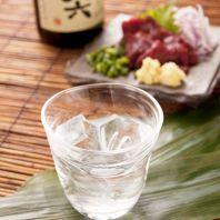日本酒・焼酎が充実!!