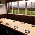 レイアウト変更可能のテーブル席で、各種ご宴会はいかがですか?最大12名様までご利用可能です!グループでのご利用にも最適!