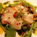 料理メニュー写真北海道産ホタテ貝のカルパッチョ