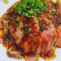 料理メニュー写真【BRUNO特製リブロースステーキ丼】