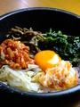 料理メニュー写真石焼キムチビビンバ