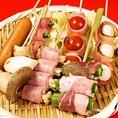 【焼き鳥】野菜巻き串