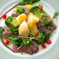 料理メニュー写真サーロインステーキステーキ 柚子胡椒風味
