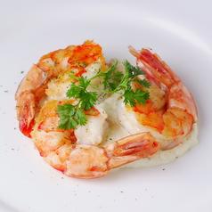 料理メニュー写真海老のソテータルタルソース