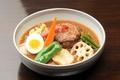 料理メニュー写真ハンバーグカレー(10食限定)※下記より【スープ】をお選びください。