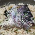 料理メニュー写真鯛釜飯(2合)