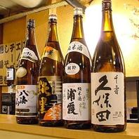 日本酒・焼酎の品揃えも豊富♪