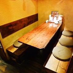 6名様用のテーブルBOX席です
