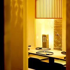 【全席個室】何名様でも利用シーンにあわせて個室空間にご案内致します。