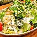 料理メニュー写真山芋とろろシーザーサラダ