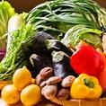 料理に使うみずみずしいお野菜は新鮮かつ上質な食材しか使用しておりません。