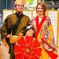 沖縄の思い出に琉装を着て記念撮影ができます♪もちろん無料です☆
