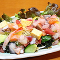 料理メニュー写真≪特盛≫海鮮サラダ