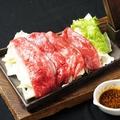 料理メニュー写真国産牛カルビ鉄板焼き