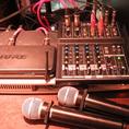 ワイアレスマイク2本やプロジェクター2機&大型スクリーン、音響など各種設備は無料でご利用頂けます。