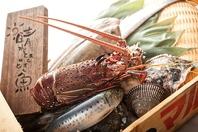 海老・蟹・魚・貝…魚介類を様々な調理法で楽しめます。