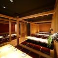 カップル個室や掘り炬燵個室、そしてVIP個室など様々なお席をご用意しております。個室をご希望のお客様はお早めにご予約下さい♪