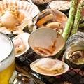 料理メニュー写真大アサリ醤油焼き