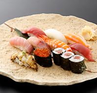 寿司職人がにぎる本格寿司