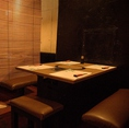 テーブル席。[2名様~18名様]