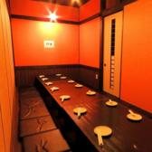大小様々な宴会にご利用いただける大人気の個室空間!