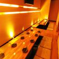 ◆ 快適個室 ◆快適プライベート個室!優しい照明が雰囲気抜群の個室席。女子会やデートにお使いいただける大人気のプライベート個室です。女同士でワイワイ、仕事帰りの一杯にぜひご来店ください!
