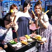 花やしき BBQガーデンの雰囲気2