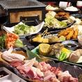 自慢の朝引き京丹波地鶏が入ったコースもご用意しております。