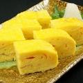 料理メニュー写真寿司屋の玉子焼