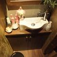 【女性も嬉しい】沢山のアメニティーグッズ♪きれいなトイレが自慢のCONA市川店!!
