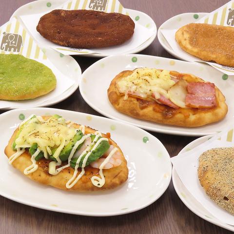 【あげ焼きパンもご用意♪リーズナブルなセット◎】ランチセット 680円(税込)