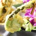 料理メニュー写真春野菜の天ぷら盛り合わせ